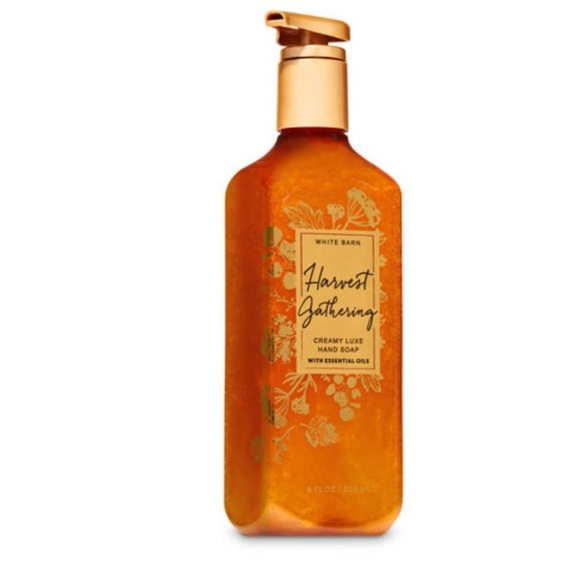 New Bath & Body Works Harvest Gathering Hand Soap